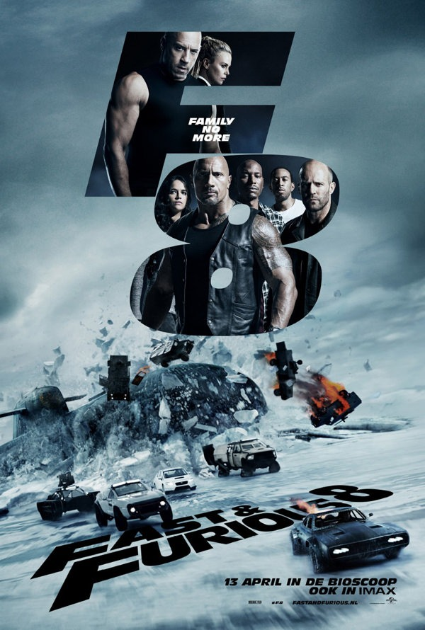 Movie Review: \'FATE OF THE FURIOUS\' (2017)| Blank Page Beatdown